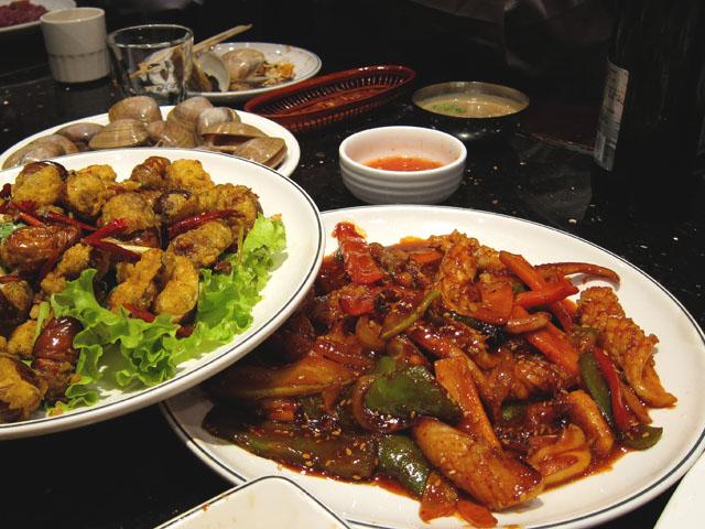Korean Restaurant in Northeast China