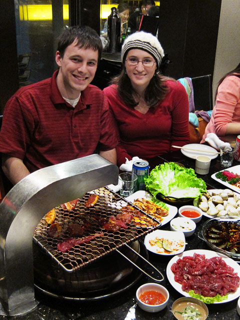 Korean barbecue restaurant in Shenyang