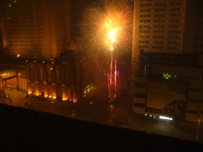 Fireworks for Spring Festival
