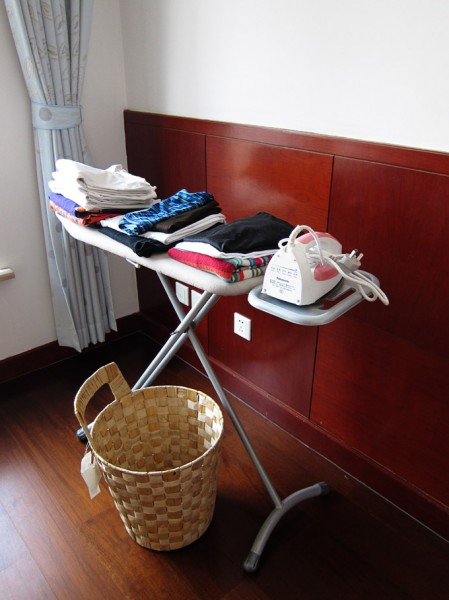 Ironing in China