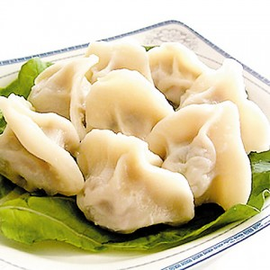 Jiaozi. Chinese dumplings.