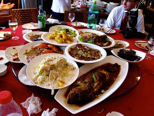 chinese wedding food