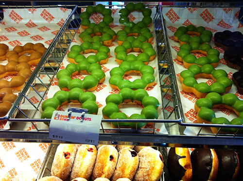 Dunkin Donuts Shenyang style